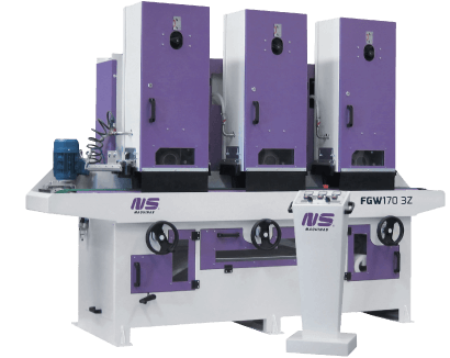 Flat Bar and Rectangular Tube Finishing machines – FGW170